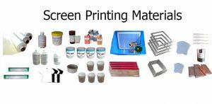 screen printing material
