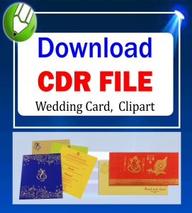 wedding card, clipart