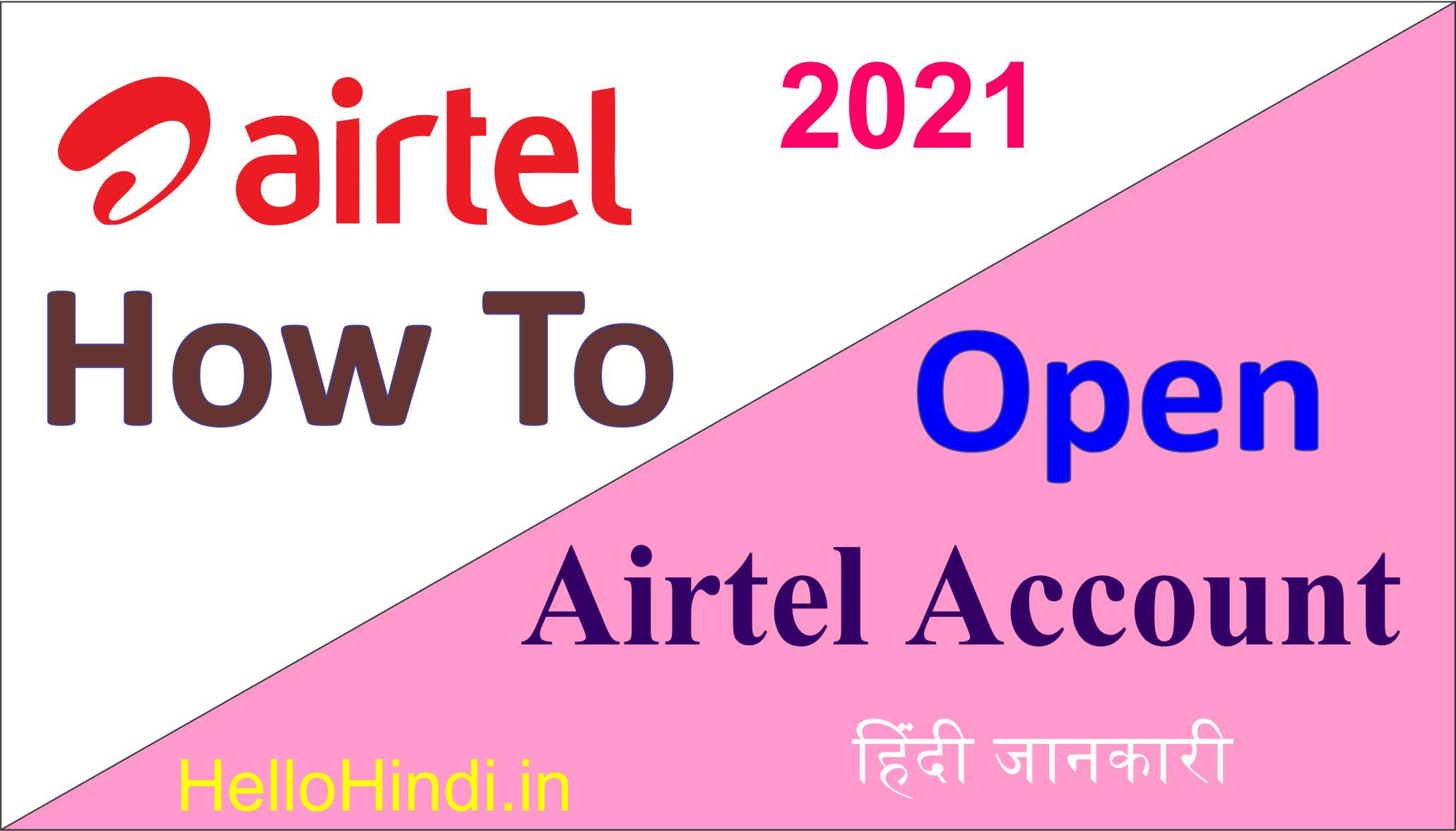 How To Open Airtel Payment Bank Account